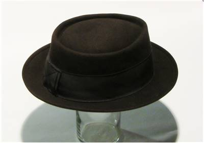 Pork Pie Hat - Classic Wide Brim and Stingy Brim Hats 216385a7729c