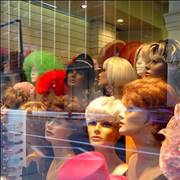 Wigs Shop Window